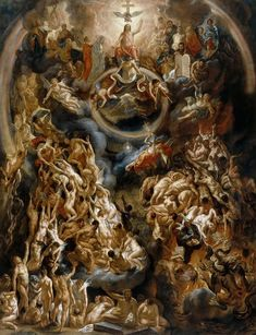 Jordaens, Jacob ( Antwerp ) – The Last Judgement Jordaens, Jacob (Anvers – Le jugement dernier Baroque Painting, Baroque Art, Religious Paintings, Religious Art, Arte Peculiar, Jacob Jordaens, Italian Paintings, Biblical Art, Peter Paul Rubens