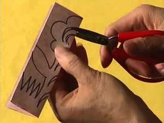 Date: Resolution: HQ Program: Chinese Paper Cutting Title: 03 - Repeated Pattern Video Series ID: Origami And Kirigami, Origami Paper, Round Mehndi Design, Paper Napkin Folding, March Crafts, Chinese Paper Cutting, Boarder Designs, Creative Bookmarks, Spring Crafts For Kids