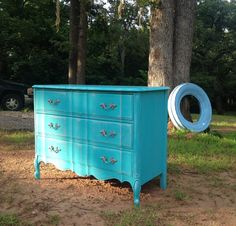 Dresser done in American Paint Company Shoreline.