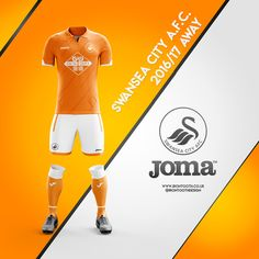 Swansea City AFC Joma Concept Kits 2016/17 on Behance