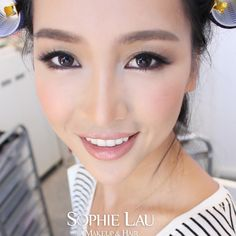 Sophie Lau Makeup and Hair: Gorgeous Linlin