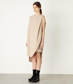 ASYMMETRY BOXY DRESS