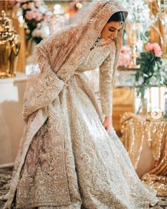 Looking for Bridal Lehenga for your wedding ? Dulhaniyaa curated the list of Best Bridal Wear Store with variety of Bridal Lehenga with their prices Asian Bridal Dresses, Pakistani Wedding Outfits, Indian Bridal Outfits, Pakistani Bridal Dresses, Pakistani Wedding Dresses, Indian Dresses, Asian Bridal Wear, Pakistani Clothing, Bridal Hijab