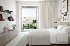 Скандинавский стиль для маленькой спальни
