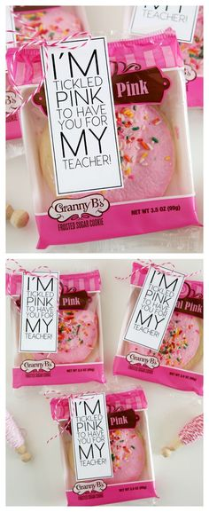 I'm Tickled Pink To Have You For My Teacher | Back to School Teacher Gift