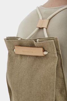 Pocket Bag Medium Raw Natural