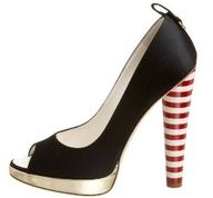 candy cane heels- these would be so cute for my Christmas party