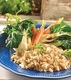 """Diferente y delicioso: """"Couscous con verduras y sabores orientales"""""""