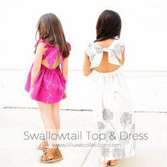 Swallowtail Top & Dress