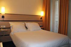 Chambre double du New Hotel Saint Lazare Patio, Bed, Furniture, Home Decor, Double Room, Decoration Home, Stream Bed, Room Decor, Home Furnishings