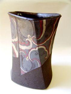 Kensaku Uke - Vessel #pottery #Japanese_pottery #ceramics