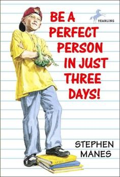 """Milo, tired of problems with his sister, parents, and classmates, finds a book in the library that promises to make him a perfect person in just three days. """"A truly humorous tale worth telling."""""""