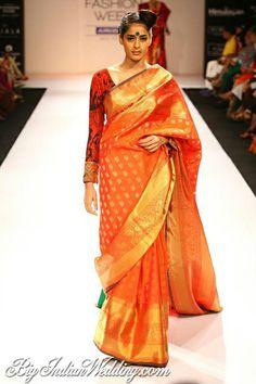 Gaurang Shah designer saree for mom