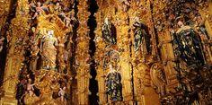 Retablo del Templo de San Francisco Javier. Museo Nacional del Virreinato. Tepotzotlán, México.