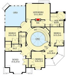 Beautiful 4 Bed Shingle Style House Plan - 23344JD | Architectural Designs - House Plans