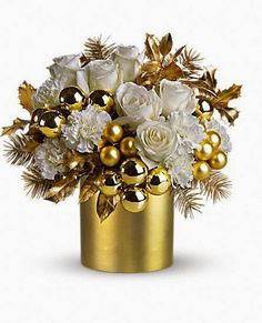 Arranjo floral natal                                                                                                                                                                                 Mais