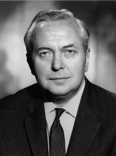 """Harold Wilson, Prime Minister in the UK to - He's the inspiration behind The Beatles' song, """"Taxman"""" My nanas cousin . List Of Prime Ministers, British Prime Ministers, Prime Minister Of England, First Prime Minister, Beatles Songs, The Beatles, Harold Wilson, Premier Ministre, United Kingdom"""