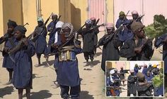 Ten-year-olds armed to the teeth and trained to kill in the name of Islam: Boko Haram release images of their child soldiers being trained in Nigeria  http://www.dailymail.co.uk/news/article-2929652/Ten-year-olds-armed-teeth-trained-kill-Islam-Boko-Haram-release-images-child-soldiers-trained-Nigeria.html