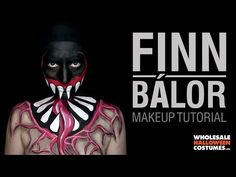 Catch your breath! This Finn Balor makeup tutorial from Wholesale Halloween Costumes will have you summoning the demon king!