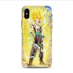 Super Saiyan iPhone X 3D Case