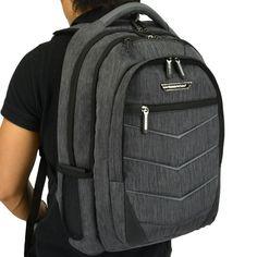 Silverwood Softside Carry-On Lightweight Laptop & Tablet Backpack Travel Bag