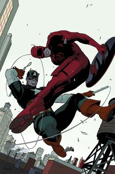 Captain America vs Daredevil •Jock