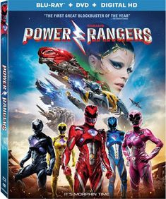 Confessions of a Frugal Mind: Power Rangers Movie Blu-ray Combo Pack $5.00 Saban's Power Rangers, Mighty Morphin Power Rangers, Rj Cyler, Rita Repulsa, Troubled Teens, Dacre Montgomery, Bryan Cranston, Naomi Scott, Blu Ray Movies