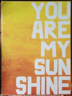 Fun sayings on canvas