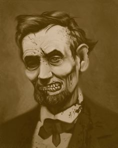 Zombies + Beards + Presidents? Yes.