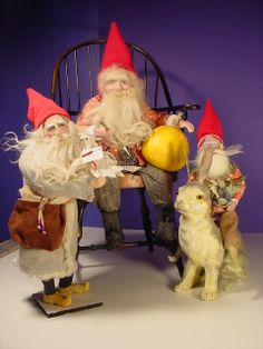 When Elves get together, they gossip too.  Norma