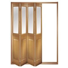 Image of Folding & Sliding Doors, IFS-4FCBEV (Open Left or Right) Victorian 4 Door Set, Frame & Glass