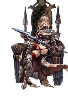 Grand Blue Fantasy Female Chaos Ruler
