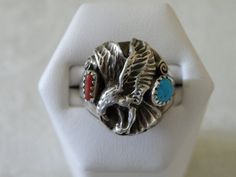 Vintage Native American Soaring Eagle Sterling by AllBeadazzled, $159.00