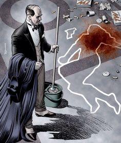 Alfred Pennyworth by Brian Bollard