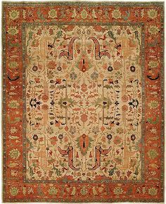Treat your feet to extraordinary soft comfort and get swept away by the intricate design patterns with Antique Heriz Wool Area Rugs. Influenced by authentic Antique Persian patterns, Antique Heriz Woo