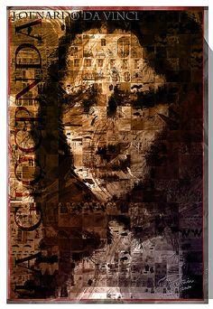 La Gioconda [vanifi.com on FLICKR] (Gioconda / Mona Lisa) - mona collage