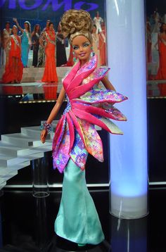 Barbie Miss Florida Keys Ninimomo 2013 Doll Clothes Barbie, Vintage Barbie Dolls, Barbie Outfits, Barbie Miss, Barbie Barbie, Miss Pageant, Beautiful Barbie Dolls, Little Doll, Barbie Collection
