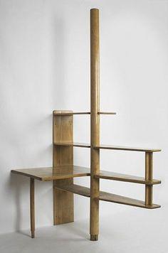 // Alvar Aalto, Birch Shelving for Baker Dormitory at MIT by Svenska Artek, c1948.: