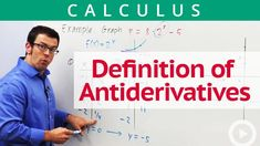 Antiderivatives and Differential Equations - Calculus - Brightstorm