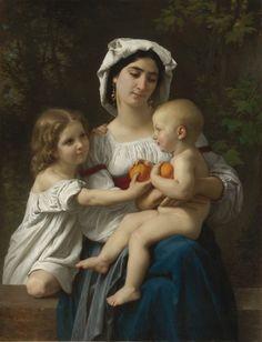 """The Oranges"" - William-Adolphe Bouguereau"