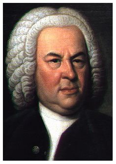 J. S. Bach - yes, appearances may be decieving