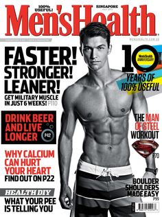 Men's Health Singapore  Magazine - Buy, Subscribe, Download and Read Men's Health Singapore on your iPad, iPhone, iPod Touch, Android and on the web only through Magzter