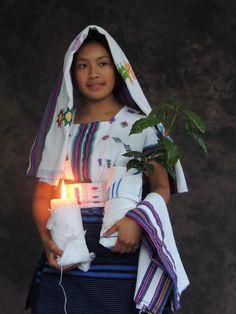 Traje ceremonial de Alotenango, Sacatepequez.