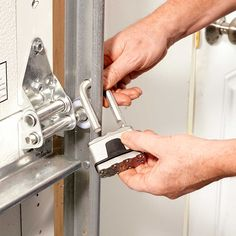 13 Inexpensive Ways to Theft-Proof Your Home: Lock up the overhead door. Get more tips: http://www.familyhandyman.com/home-security/inexpensive-ways-to-theft-proof-your-home?pmcode=pin110114d