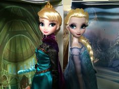 Disney store limited edition Elsa dolls   Flickr - fallconary615