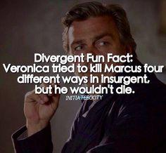 Dumb Marcus... He's like a cockroach. He won't just go away!  ~Divergent~ ~Insurgent~ ~Allegiant~