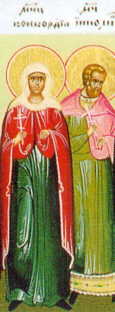 Martyr Hippolytus of Rome - Orthodox Church in America - Martyr Concordia of Rome