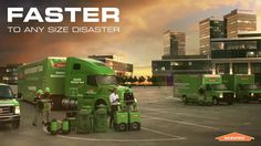 #Servpro provides 24/7 #residential and #commercial services to those in need. We're committed to being #faster to any sized #disaster!