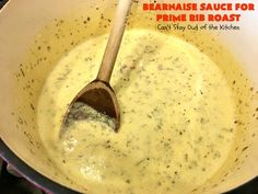 Bearnaise Sauce for Prime Rib Roast – Sides – Prime Rib Sides, Prime Rib Au Jus, Smoked Prime Rib, Prime Rib Roast, Prime Rib Sauce, Prime Rib Recipe, Side Dishes For Ribs, Sides For Ribs, Holiday Treats