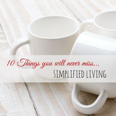 10 Things to Purge - Simplified Living - Something happens to me when the calendar changes and a new year begins. I get this uncontrollable urge to rid myself of any excess that is lingering around me. #organize
